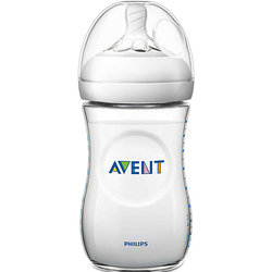 Philips Avent bottle. Natural series with 1 months, 260 ml