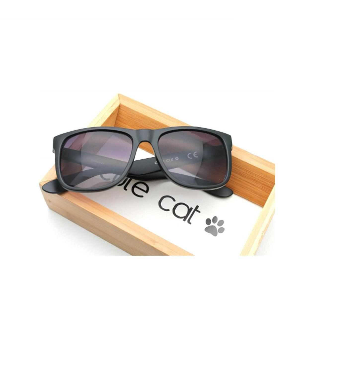 Cute Cat Eyewear Rayban Desing Made In Turkey Justin  Uv400  Organic Sunglasses  World Wide Free Shipping
