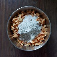 ㊙️街边小吃‼️红薯烙‼️充满甜蜜的回忆的做法图解2