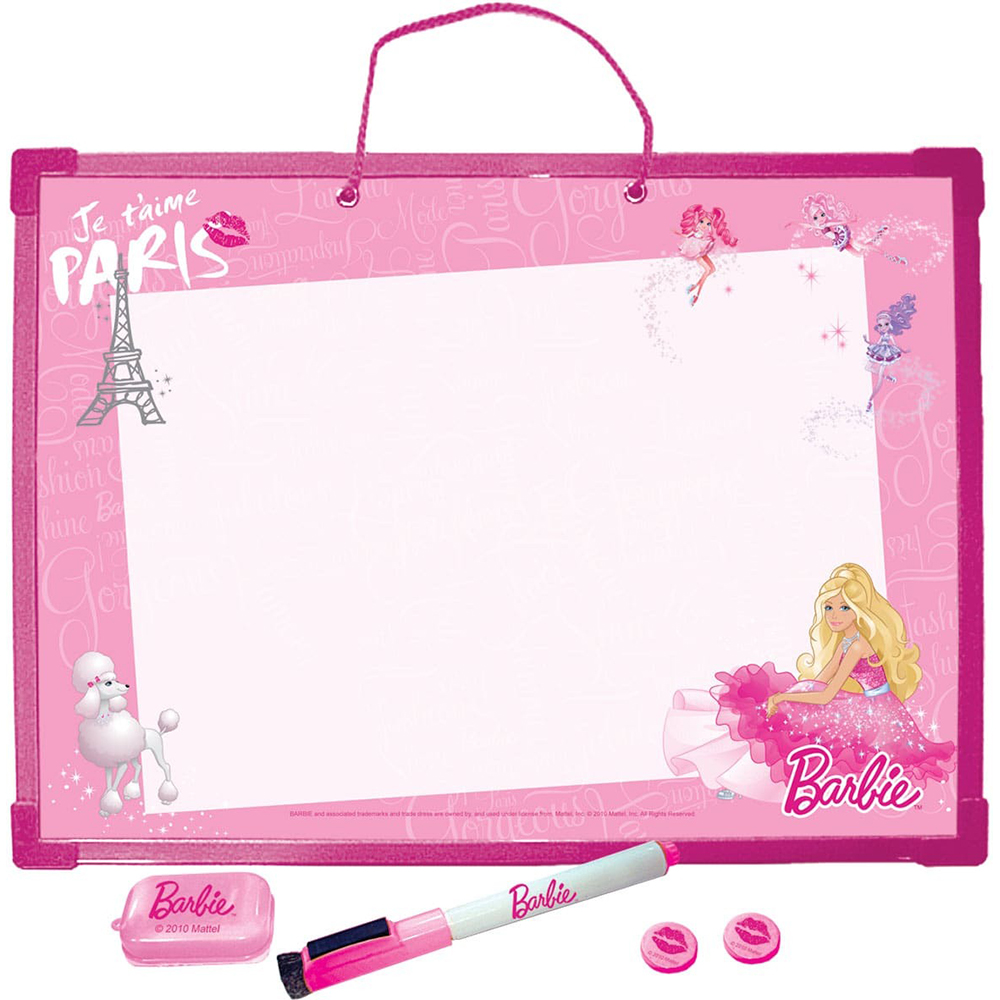 Drawing Board Academy Of Groups Of Barbie Pishi-Стирай