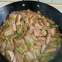 白菜冻豆腐的做法图解7