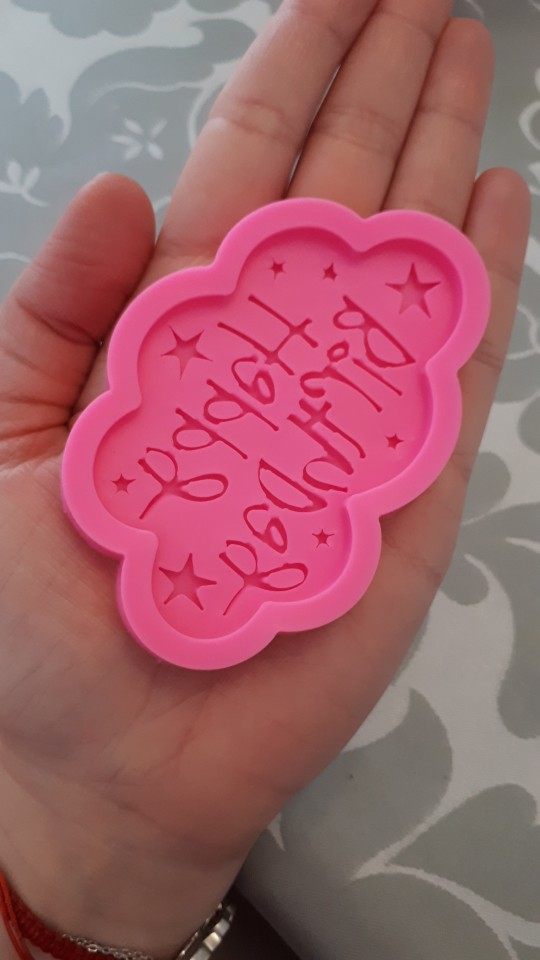 Happy Birthday Silicone Mold photo review