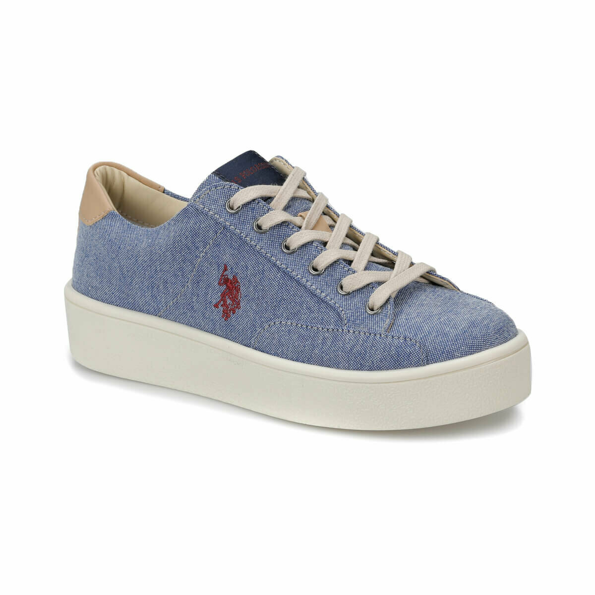 FLO MARIQ Blue Women 'S Sneaker Shoes U.S. POLO ASSN.