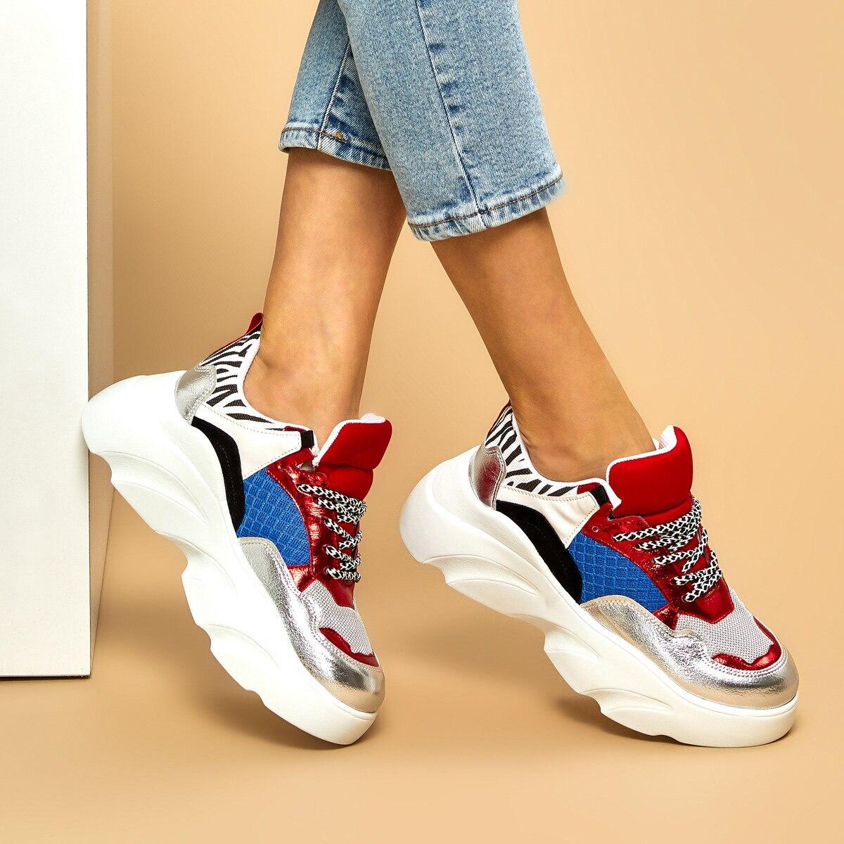 FLO FERRO Gray Women 'S Sneaker BUTIGO