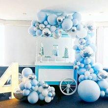 100/152pcs Macaron Balloons Arch Garland Happy Birthday Party Decoration Baby Shower Wedding Valentine Party Balloon Supplies