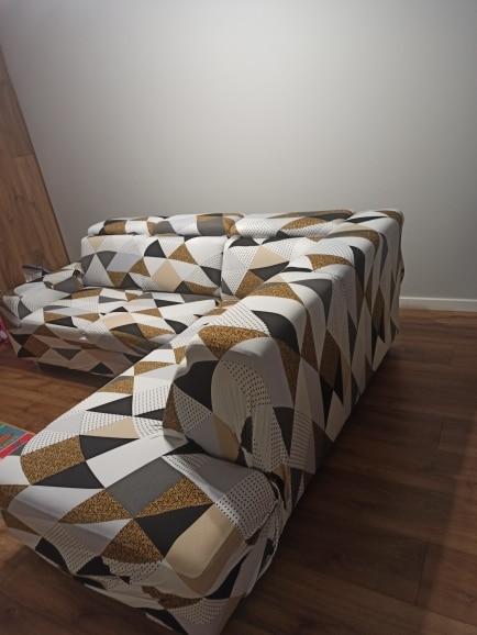 Capa para Sofá de 2, 3 e 4 Lugares Tecido Spandex - Vários Modelos photo review