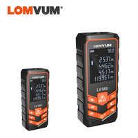 LOMVUM Sale 66U Battery-powered Auto Level Laser Range Finder Multifunction Distance Meter Night Vision Laser Rangefinder Tool