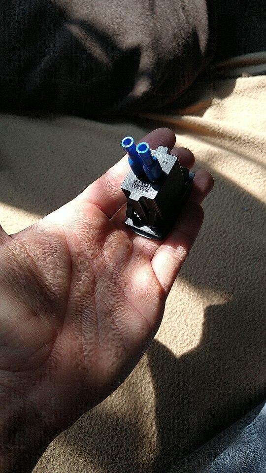Cargador USB de 12-24V para coche, adaptador impermeable de 3.1A, salida de toma de corriente USB doble para motocicleta, ATV, b