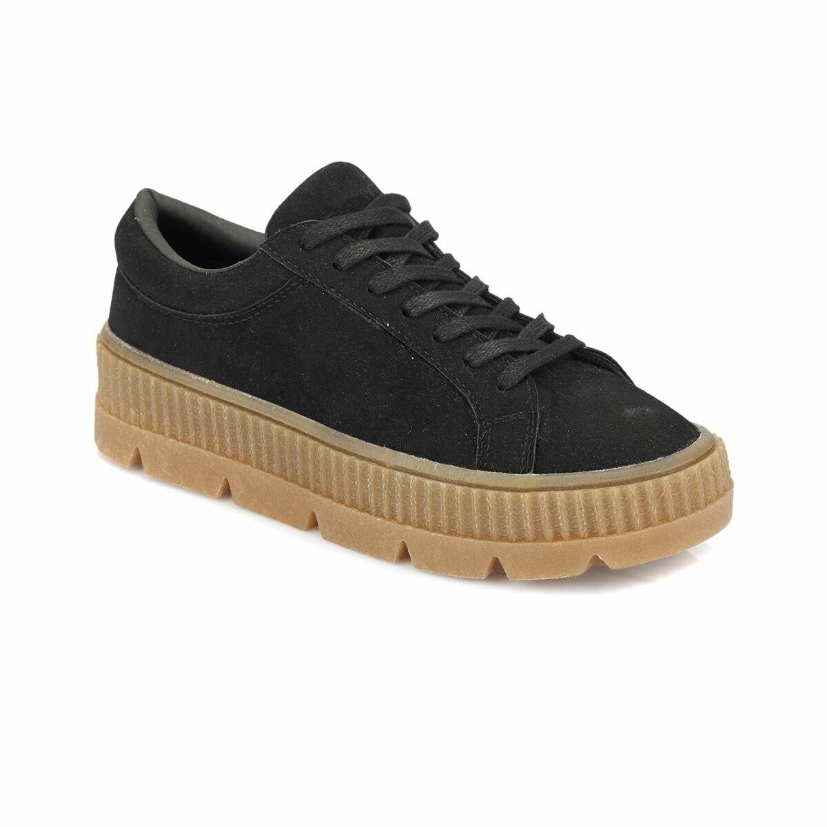 FLO ZERRA Black Women 'S Sneaker Shoes KINETIX