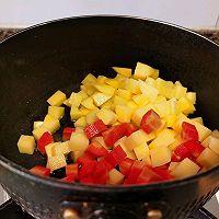 土豆胡萝卜虾仁煲(超级下饭)的做法图解3