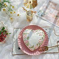 """#美食说出""""新年好""""#爱心彩绘酸奶蛋糕的做法图解13"""