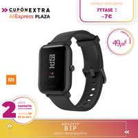 -Plaza Garantia-Amazfit Bip Para xiaomi Relojes Deportivos con GPS Bluetooth IP68 Pantalla Táctil Monitor de Frecuencia Cardíaca