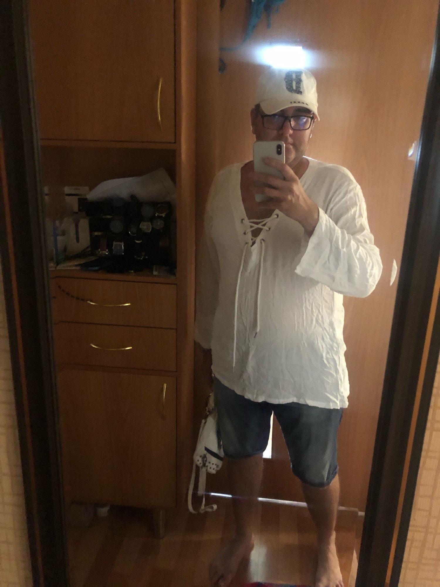 Mens Spring Summer Casual Shirt Short Sleeve Cotton Linen Shirts Men Loose Collar Button Shirt silk Chemise Homme