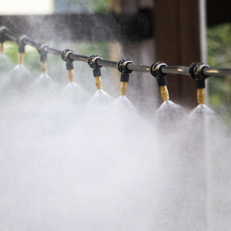 30M Garden Watering System Drip Irrigation Automatic Irrigation  Spray Sprinkler System Garden Potted Drip Irrigation Kit