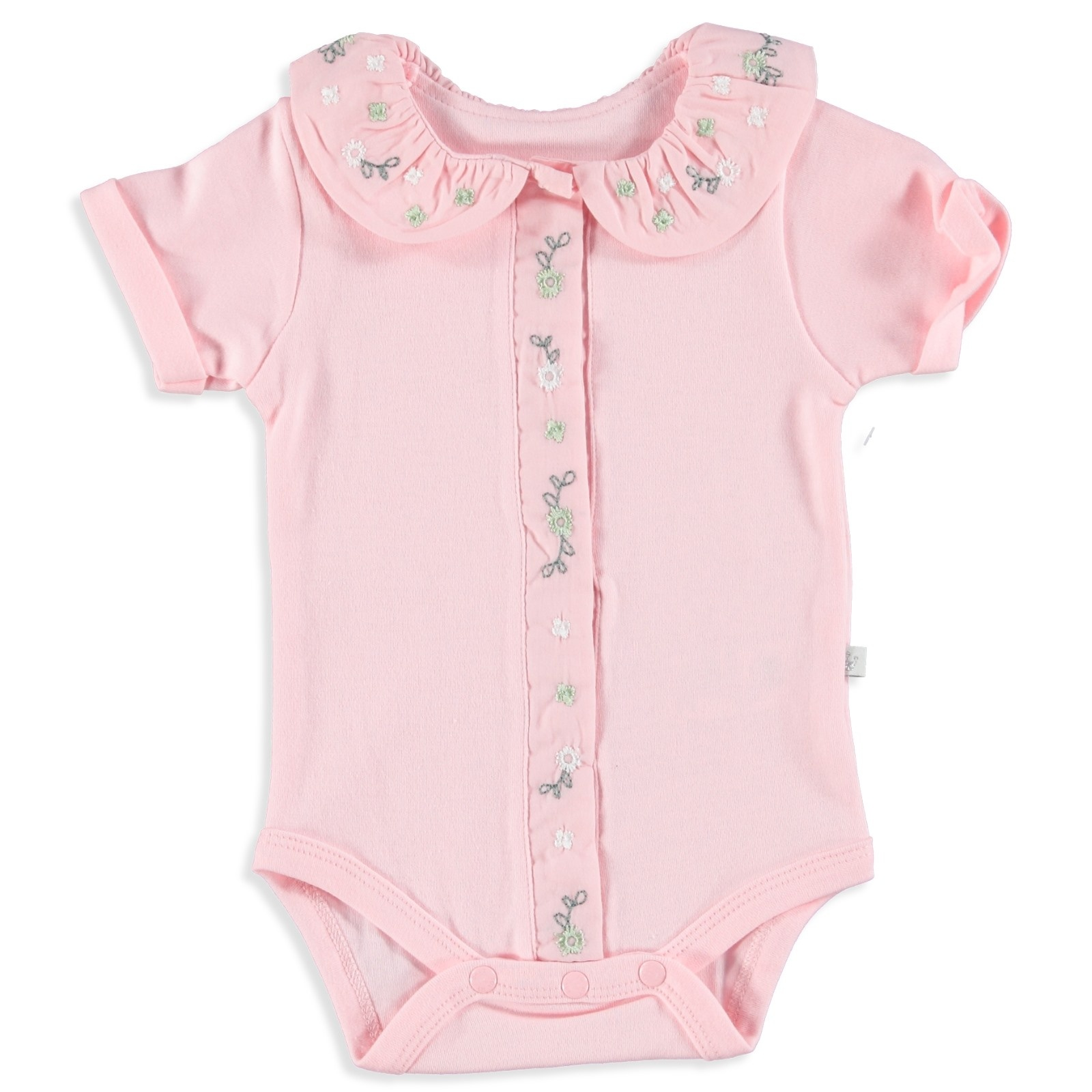 Ebebek For My Baby Ketrin Girl Short Sleeve Bodysuit