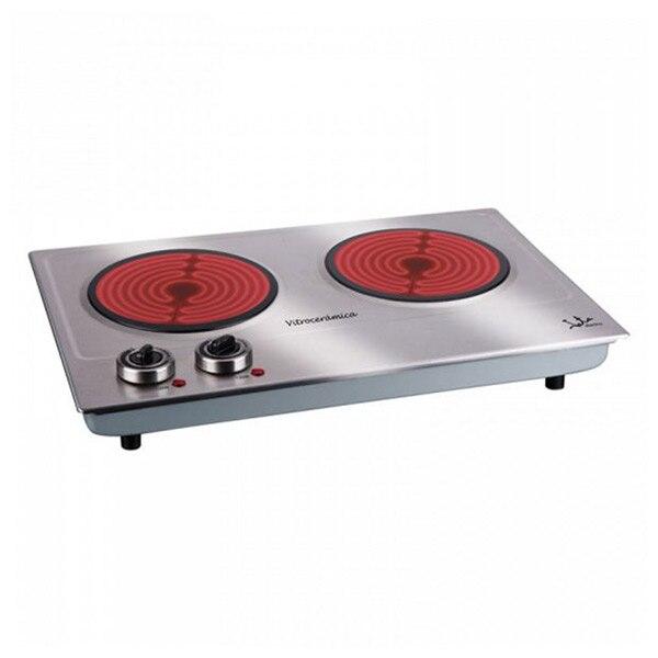 Portable Ceramic Hob JATA V532 2400W Stainless Steel