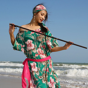 Комплект из 3 предметов, костюм для танца живота, длинный народный халат, балади, потертый Saidi, платье для танца живота, тренировочная одежда, ...