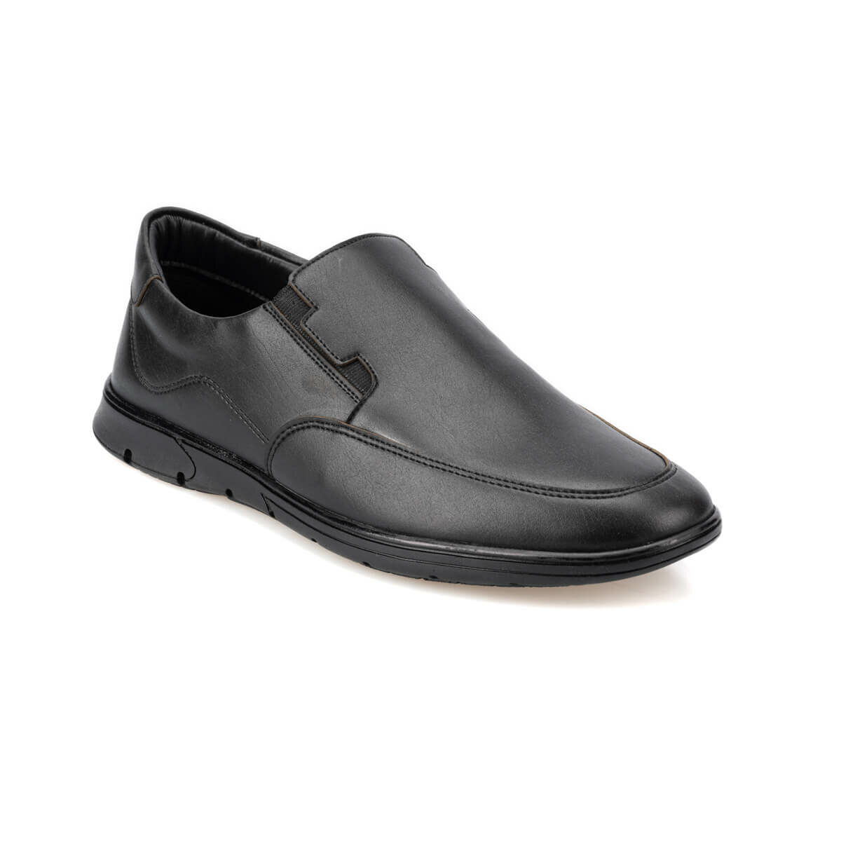 FLO 92.150950.M Black Male Shoes Polaris