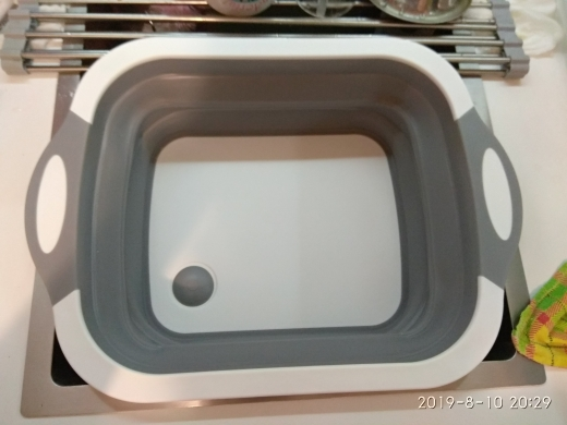 Collapsible Storage Chopping Board photo review