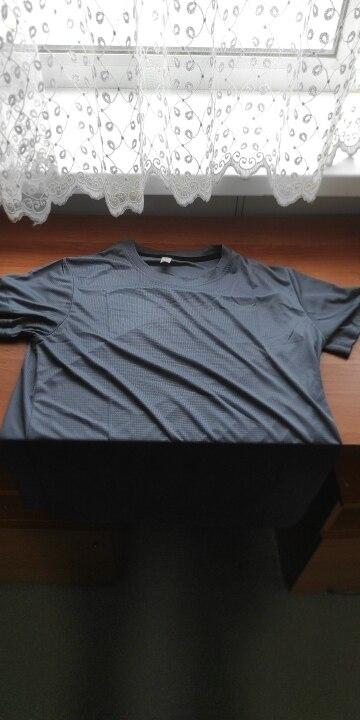 Men's Solid Color Quick Dry T-Shirt photo review