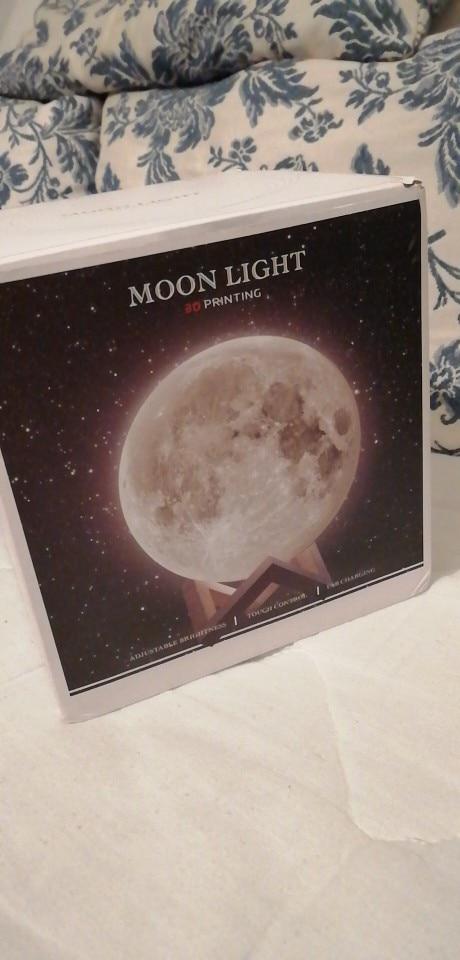Lampe lune 3D photo review