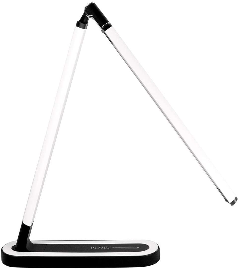 Lampe à LED flexible de bureau de contrôle tactile d'usb de Furein avec l'intensité lumineuse de Base antidérapante portative et le temps réglable