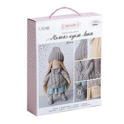 3548669 Интерьерная кукла «Лика», набор для шитья, 18*22.5*4.5 см