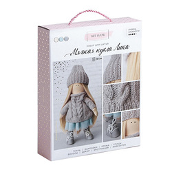 3548669 interior doll Lika, sewing kit, 18*22.5*4.5 cm