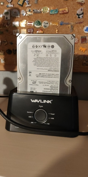 Wavlink Dual Bay SATA to USB3.0 External Hard Drive Docking Station for 2.5/3.5inch HDD/SSD Offline Clone/Backup/UASP Functions reviews №1 104580