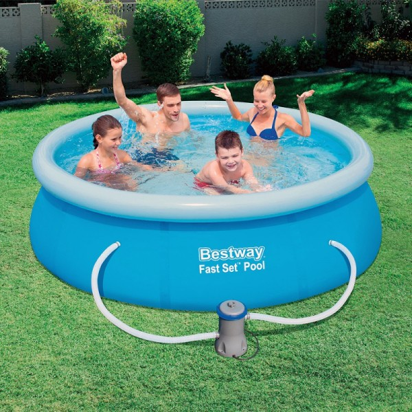 Pool Fast Set Round With Sewage ø244x66 Cm.