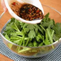 凉拌茼蒿 | 低脂开胃的做法图解4