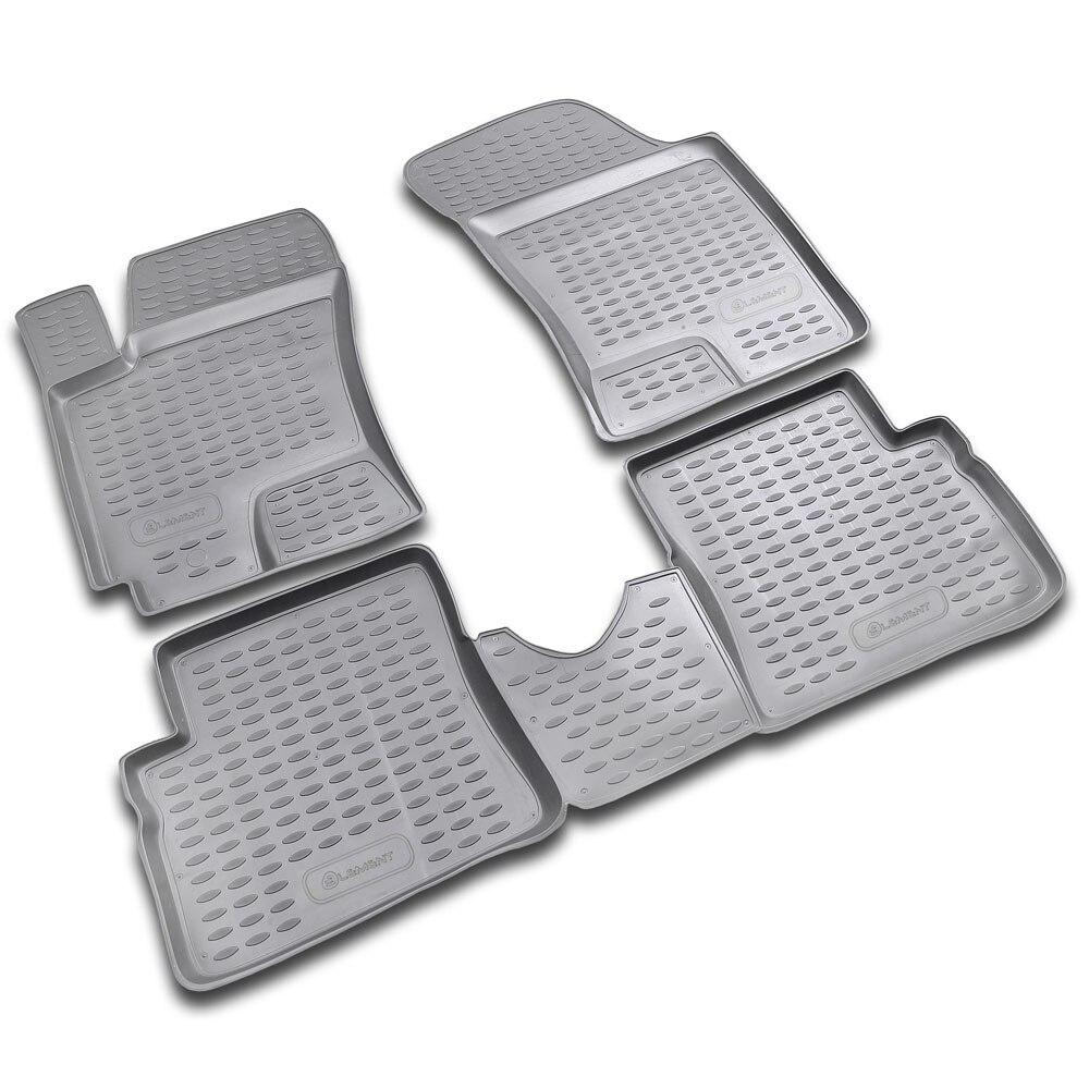 Floor Mats For HYUNDAI Getz 2002-> 4 PCs NLC.20.08.210h