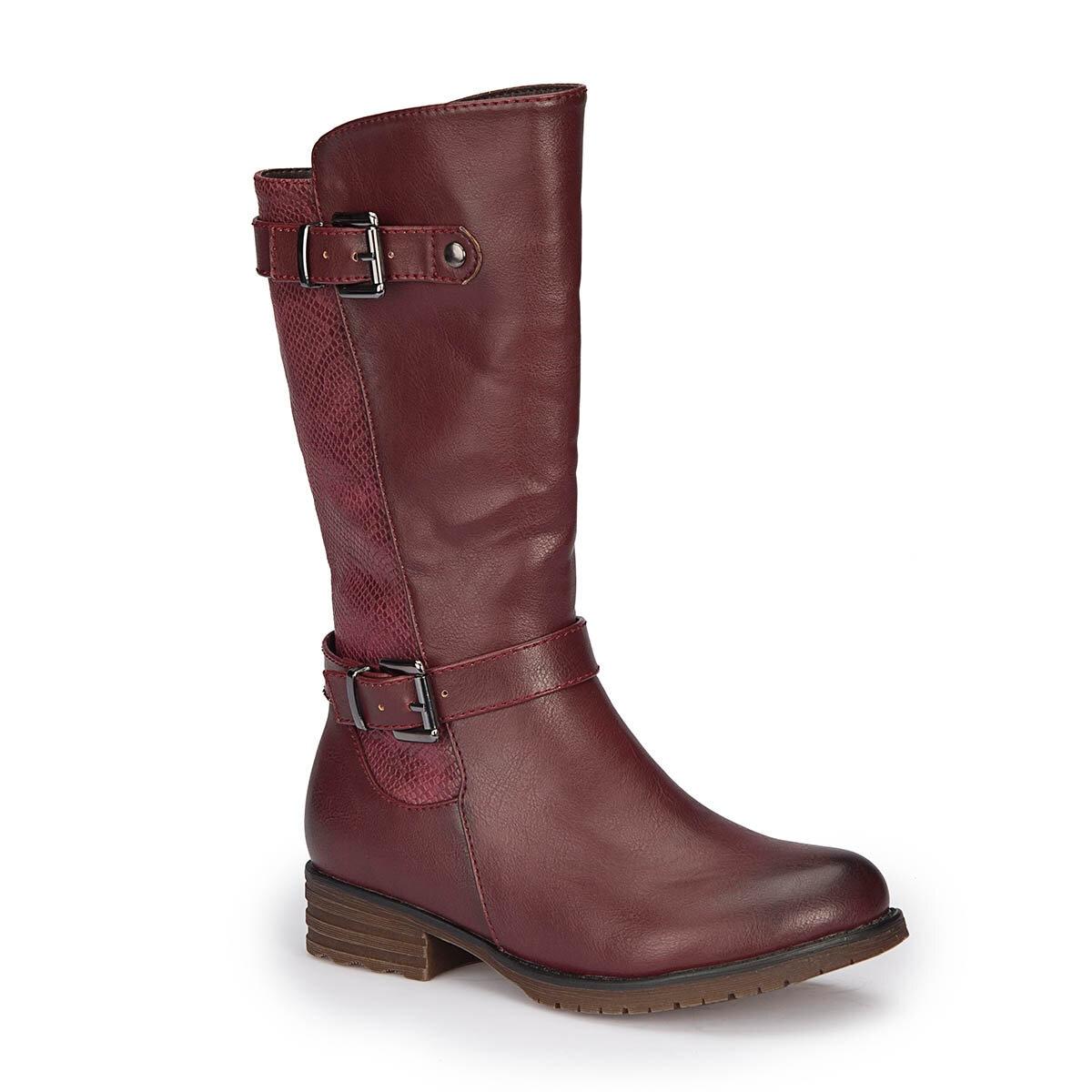 FLO 72.509707.F Burgundy Female Child Boots Polaris