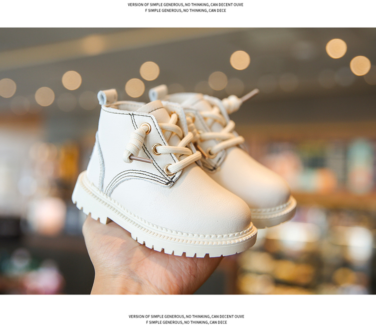 Girl'S Boots Boy Booties Shoe Zatapitos Order Child Booties Zipper Cords