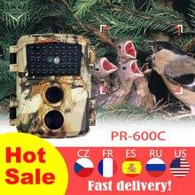 Mini takip kamerası 12MP HD oyun kamera PR600C su geçirmez yaban hayatı İzcilik avcılık kamera yaban hayatı İzcilik avcılık kamera ile 60 °