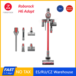2020 Roborock H6 Adapt Cordless Vacuum cleaner150AW Strong Suction 420W Brushless-Motor OLED Display Portable Wireless Handheld
