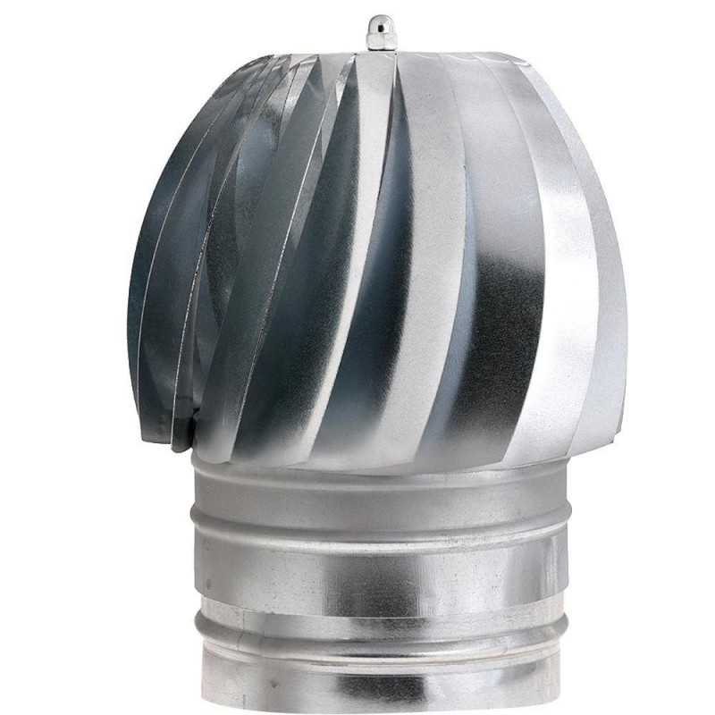 Hat Extractor Galvanized Stove 200mm.