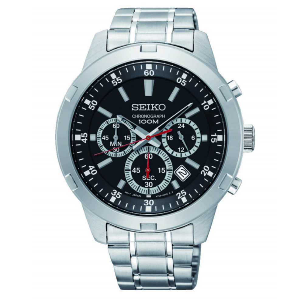 Original Seiko Watch Men Watch Top Luxury Brand Sport Men Watch Set Men Watch 100m. Waterproof Watch Relogio Masculino SKS605P