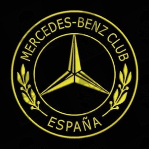 MERCEDES BENZ Iron patch Toppa ricamata gestickter patch brode remendo bordado parche bordado