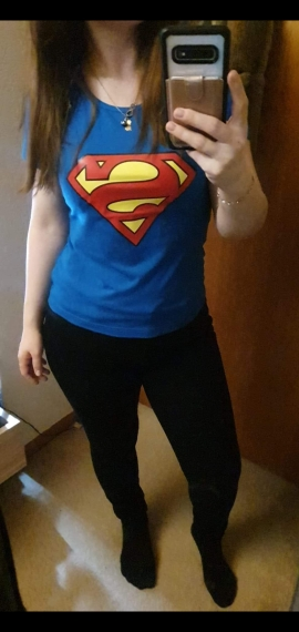 Family Matching Outfits Superman T-Shirts For Couple photo review
