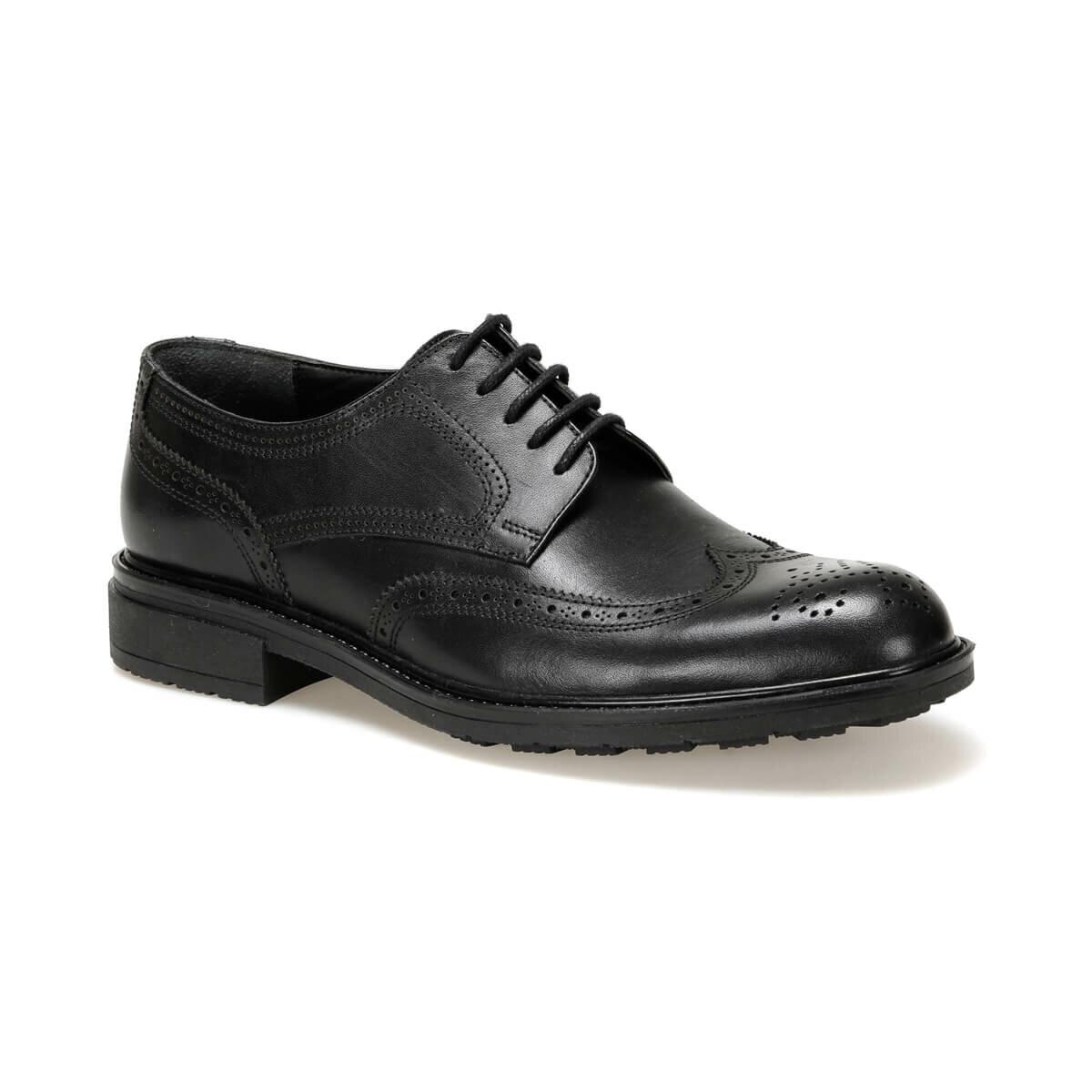FLO LST-6 Black Men 'S Classic Shoes Garamond