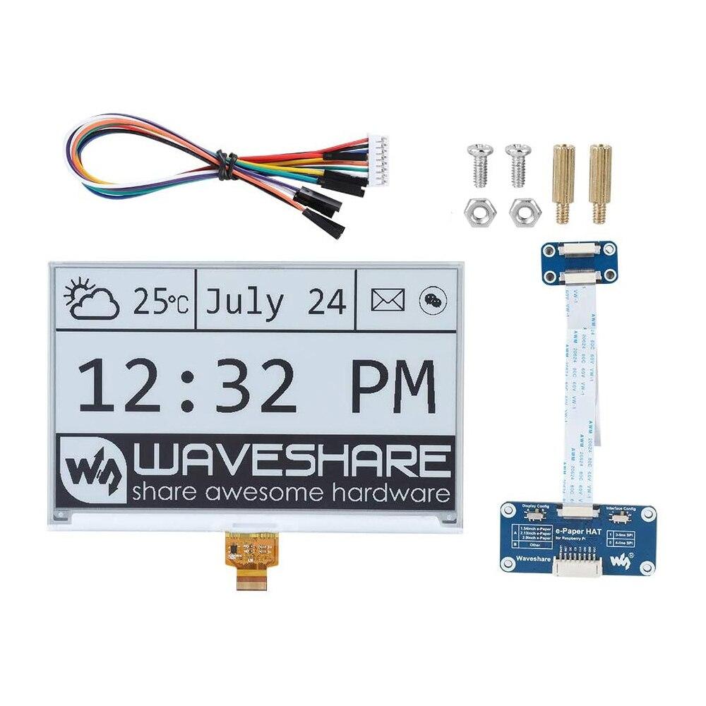 7,5 дюймовый e-Paper e-Ink модуль экрана дисплея комплект шляп для Arduino Raspberry Pi RPI Zero W WH 3B Plus 4 4B Jetson Nano E paper Eink