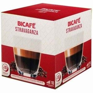 STRAVAGANZA, BICAFÉ intense espresso 10 compatible caps DELTA Q