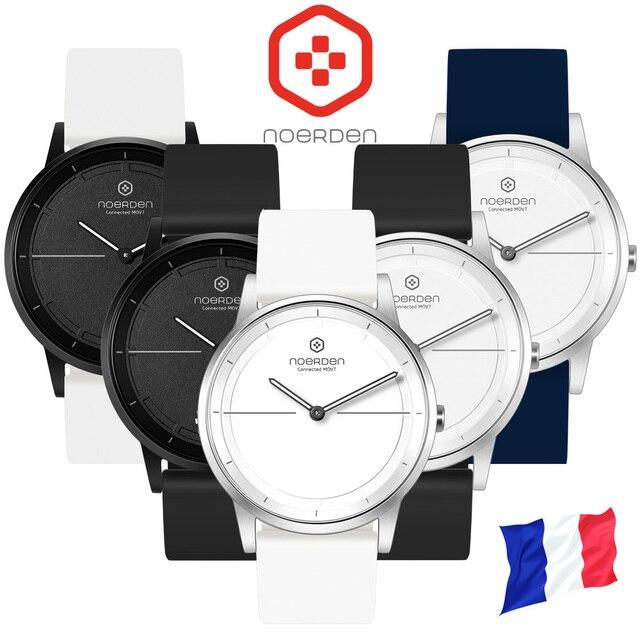 Умные часы Noerden MATE2: Классические часы с функциями фитнес трекера, отслеживания фаз сна, управления музыкой