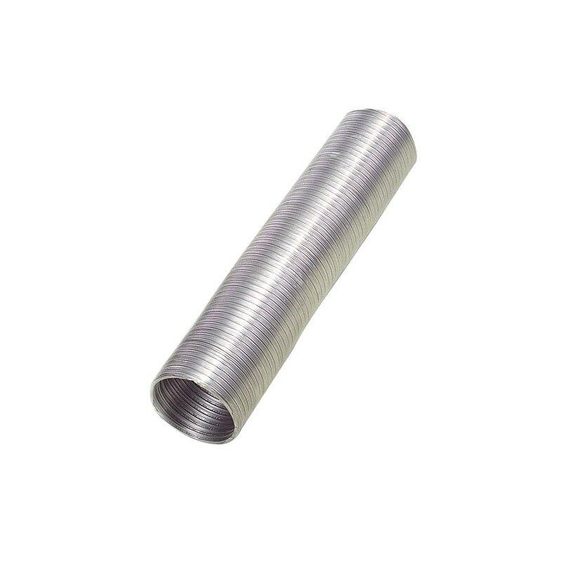 Aluminum Tube Compact Gray Ø 110mm./5 Meters