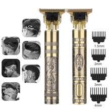 Tondeuse électrique Tondeuse professionnelle pour hommes Tondeuse Rechargeable rasoir rasoir 0mm barbier coupe cheveux Machine Tondeuse Barbe