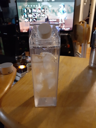 Kitchen Leakproof Creative Transparent Milk Water Bottle Drinkware Outdoor Climbing Tour Camping Children Men Milk Water Bottles|Water Bottles| |  - AliExpress