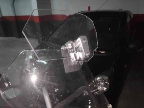 Defletores de vento e parabrisas Ressuscitado Ressuscitado Motocicleta