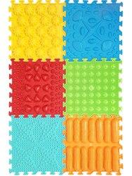 Массажный коврик-пазл Master Foot, Vyalmis, набор 6.7 Ассорти , 6  пазлов