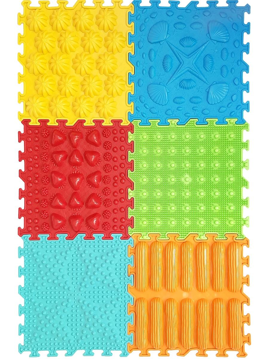 Massage Pad-puzzle Master Foot, Vyalmis, Set Of 6.7 Assorted, 6 пазлов